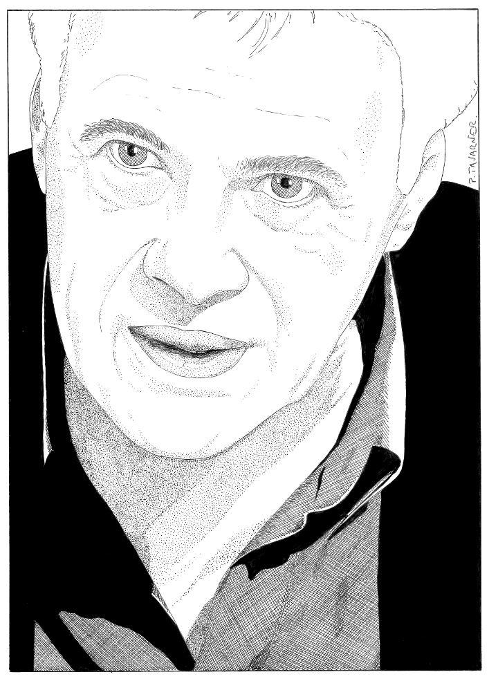 Guy Bedos par P.Tavarner